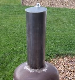 Chimney and chimney cover