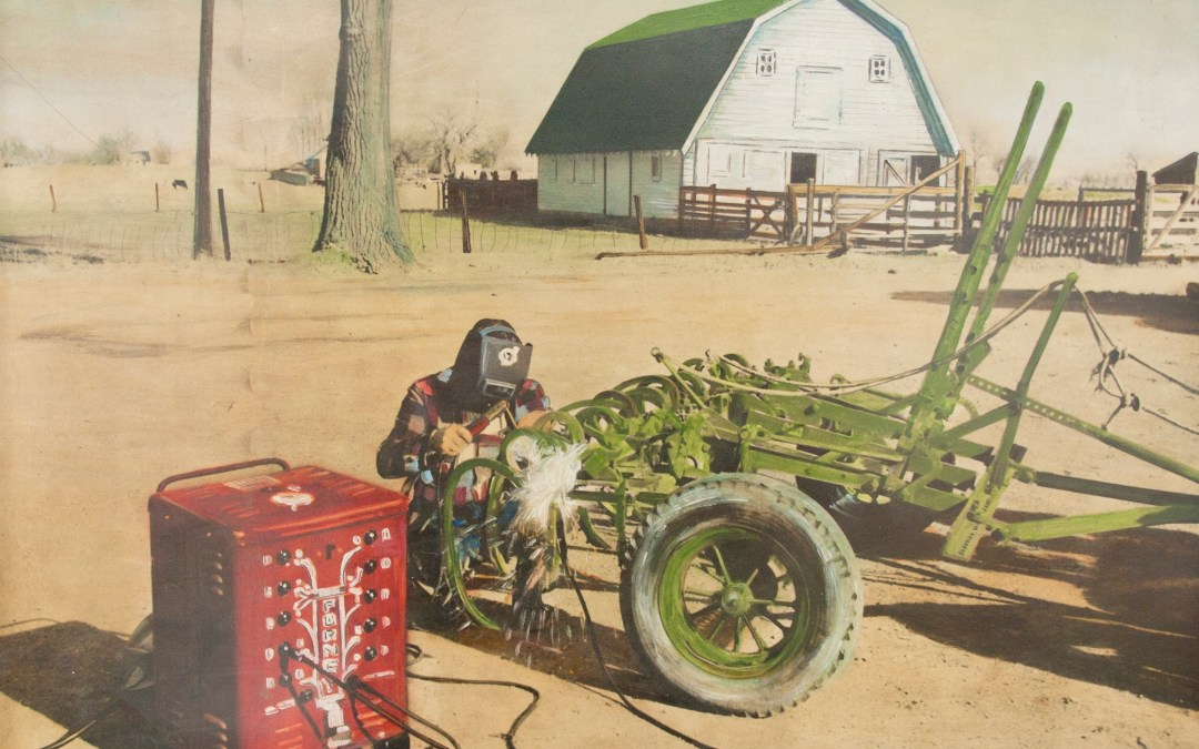 An Old Forney Welder Painting