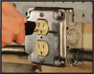 Dedicated 120V electrical circuit