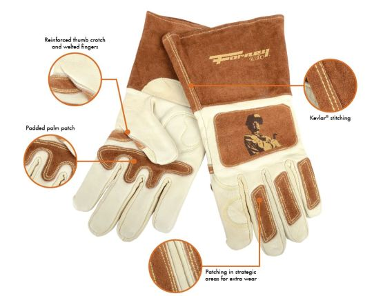 Forney Signature Glove Details