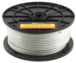 Forney Vinyl Coated Wire Rope