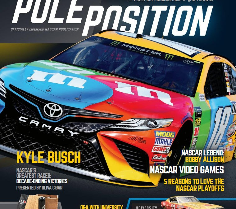 NASCAR POLE POSITION OCT/NOV 2018