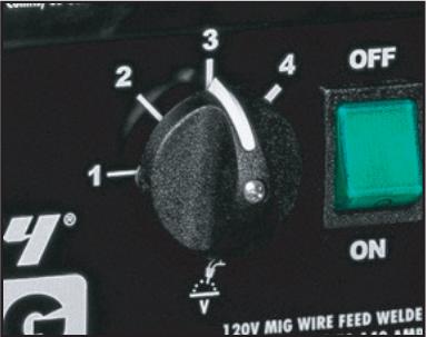 Voltage knob