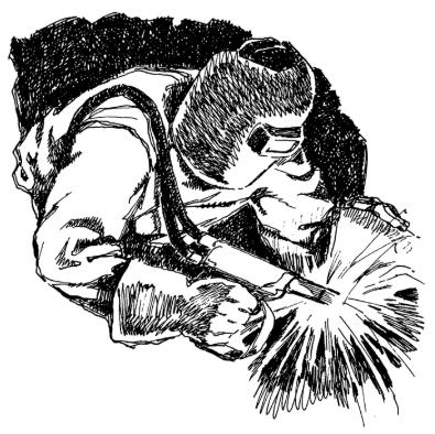 Welder Sketch