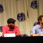 KC Collins and Kris Holden-Ried make silly faces at DragonCon 2013