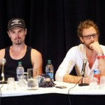 Paul Amos and Kris Holden-Ried at DragonCon 2013