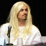 Paul Amos as Dr Lauren at DragonCon 2013