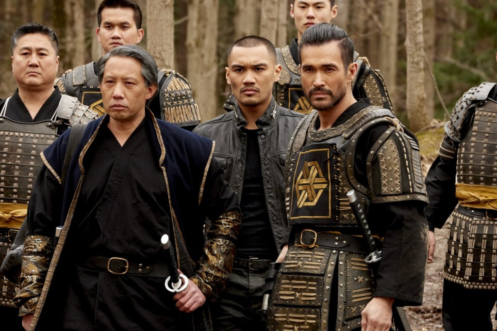 Four with guards in Episode Nine