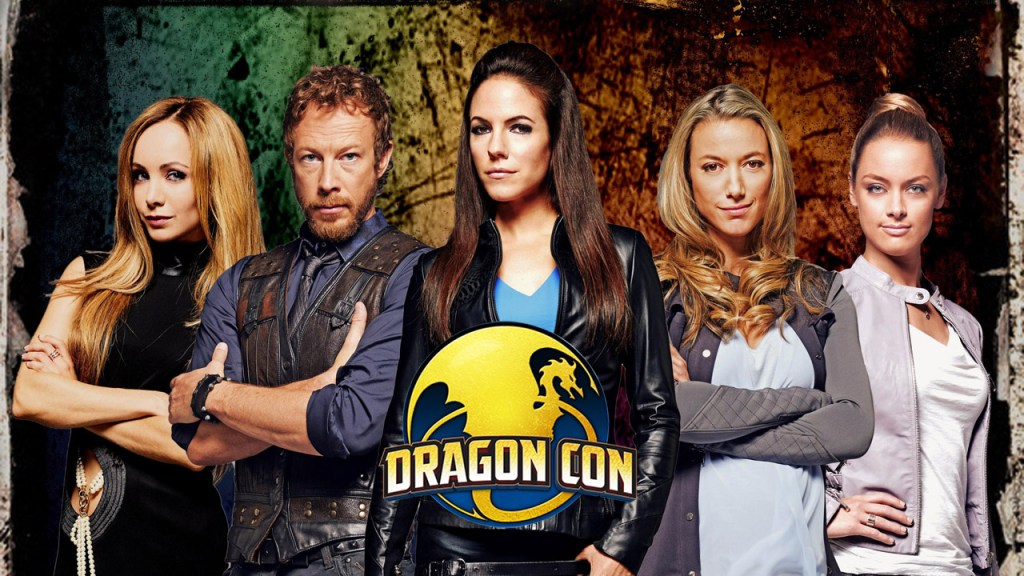 Lost Girl at Dragon Con 2015 promo