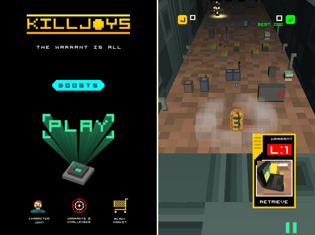 Killjoys: The Warrant Is All game screenshots