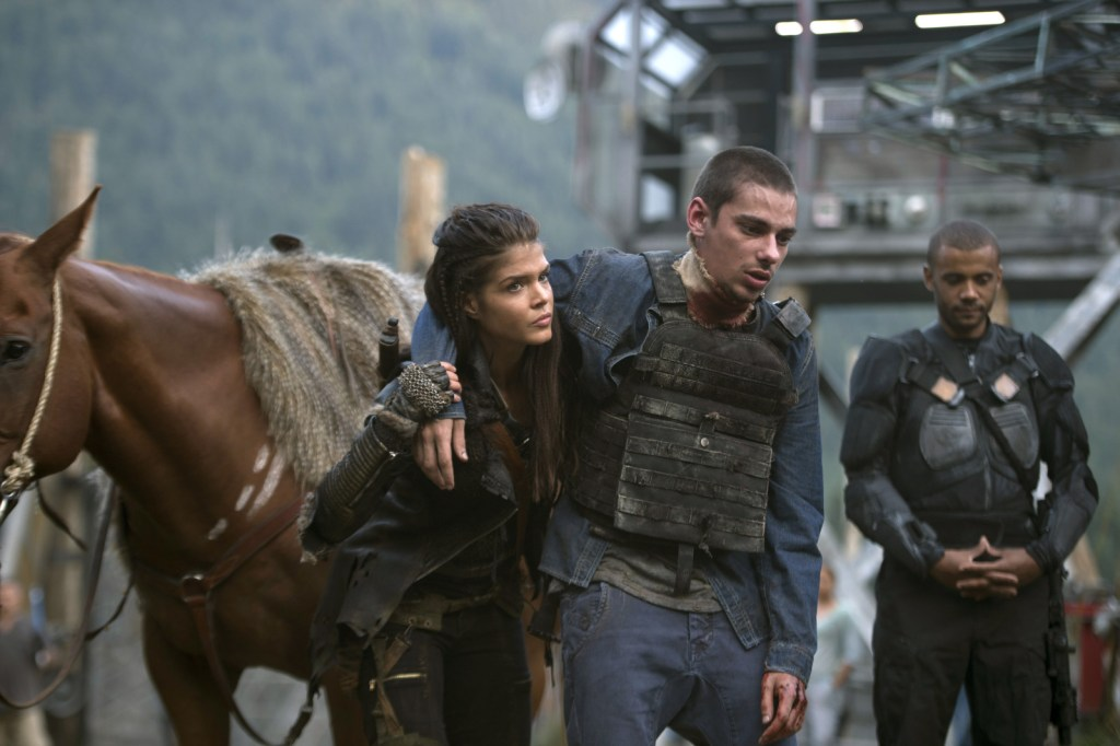 Octavia and Jasper in Wanheda Part One