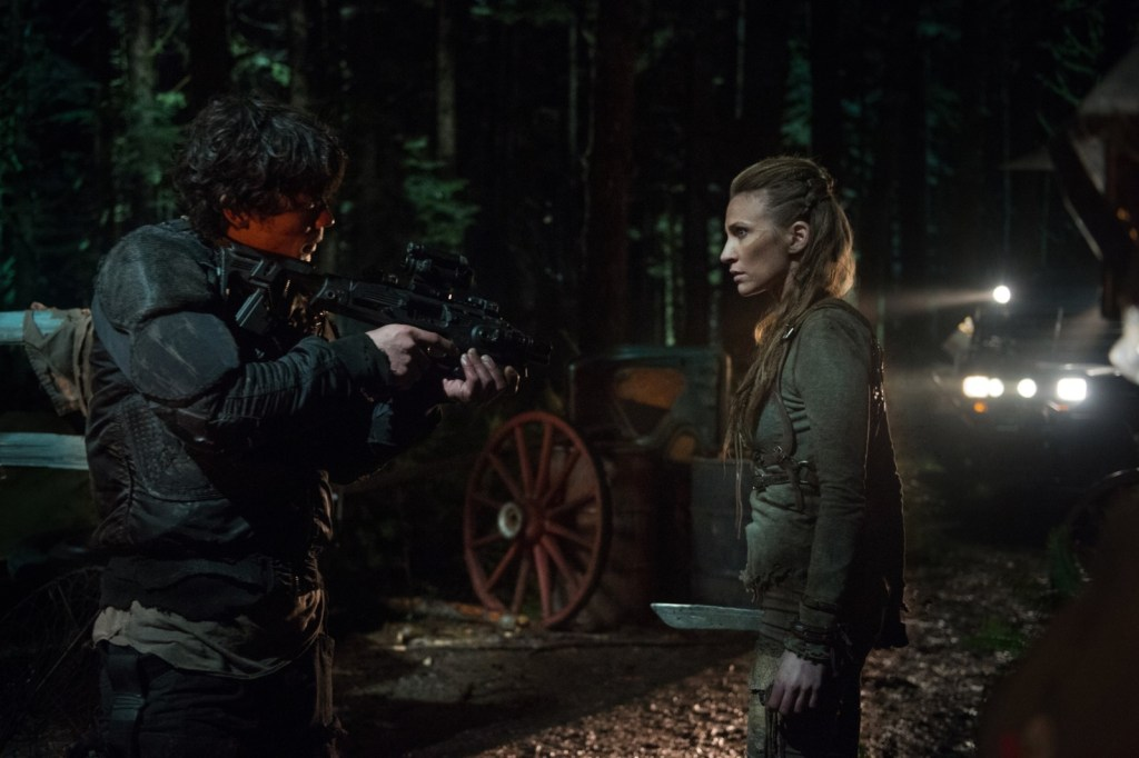 Bellamy and Niylah in Nevermore