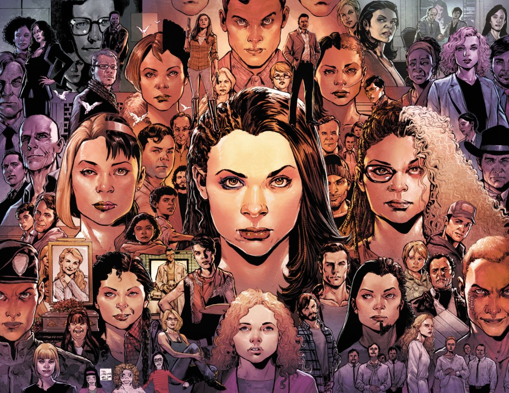 Orphan Black comic art