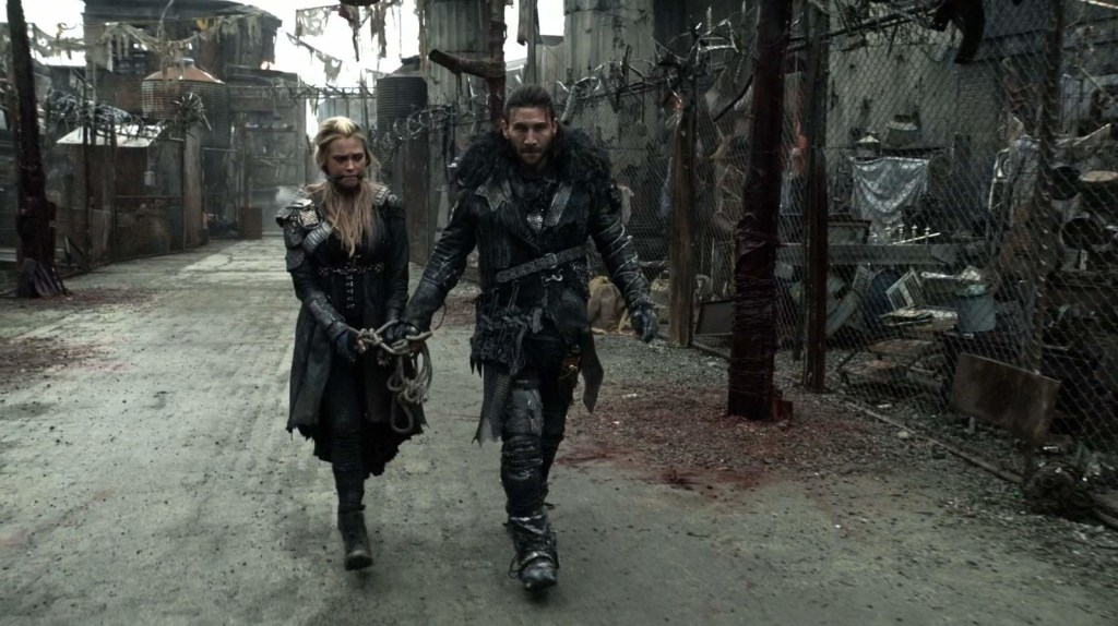 Clarke and Roan in The 100 Perverse Instantiation Part 1