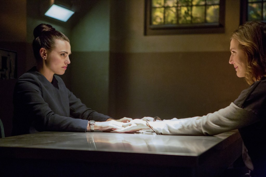 Lena and Lillion Luthor in Supergirl 2x12