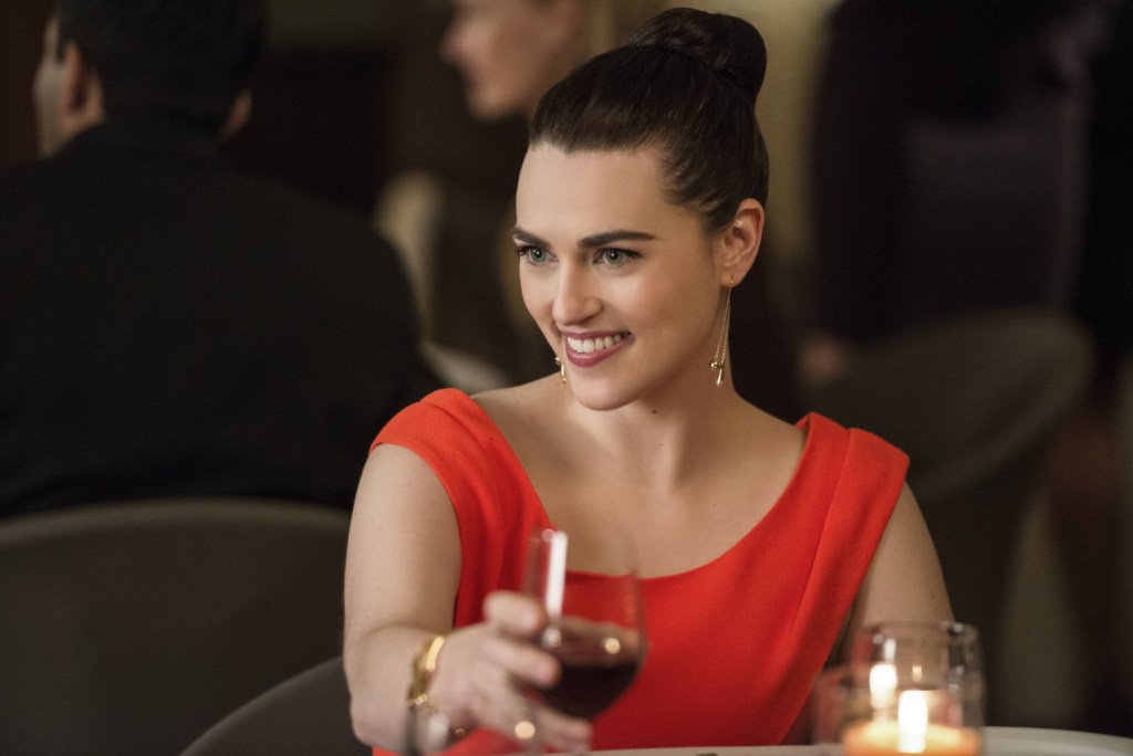 Lena Luthor in Supergirl 2x18