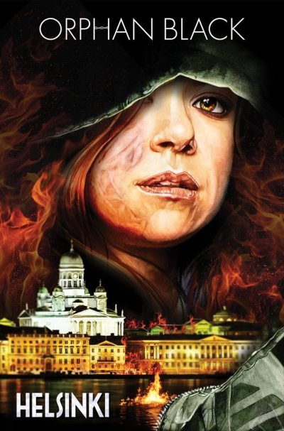 Orphan Black Helsinki trade cover