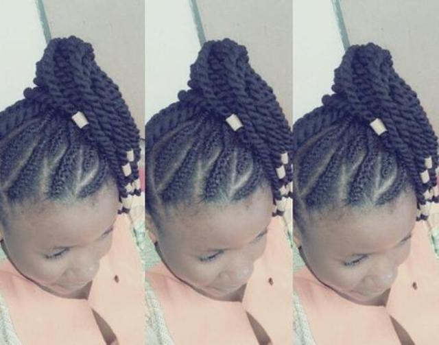 Cute Braided Hairstyles For Black Girls Simple Braids For Kids
