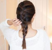 How to Do a French Braid (Basic French Braid)