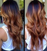 Ombre Hair Black To Red Brown | www.pixshark.com - Images ...