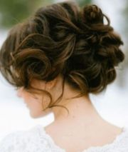 exquisite prom updos long