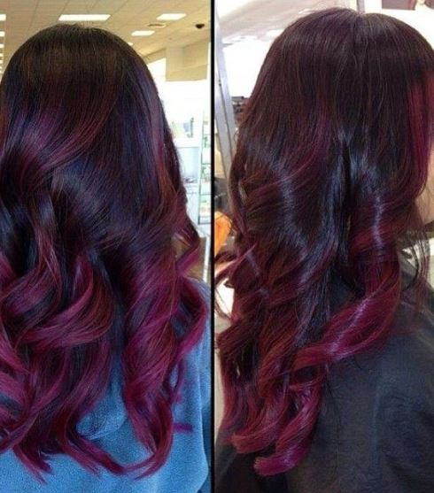 15 Ideas for Red Ombre Hair
