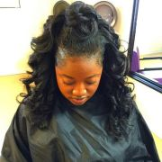endearing sew in hairstyles