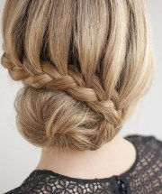 elegant hairstyles thick