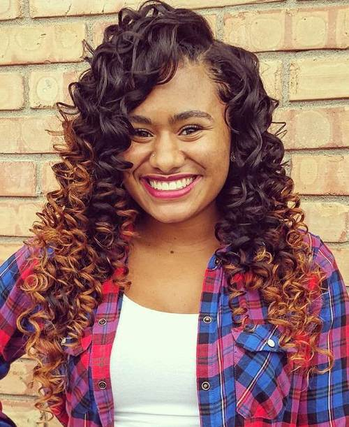 20 Endearing Sew In Hairstyles