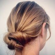 unique updos thin hair