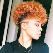 fancy natural hair mohawk hairstyles