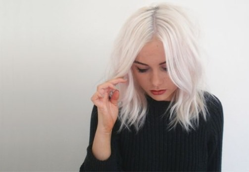 Types of Platinum Blonde and White Hair