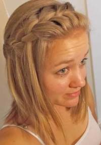 braid band hairstyle 20 best medium length hairstyles