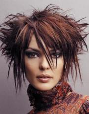 funky hairstyles medium