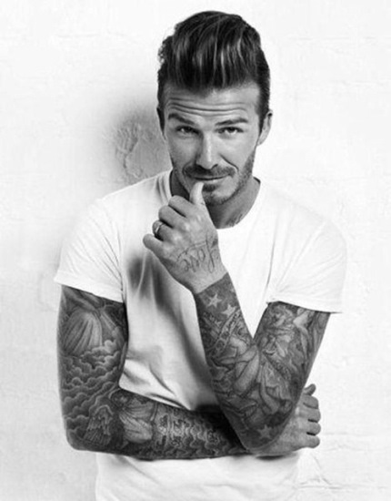 David Beckham Pompadour : david, beckham, pompadour, Pompadour, Extra, Voluminous, David, Beckham, Haircuts, AskHairstyles