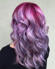 ideas pastel purple hair