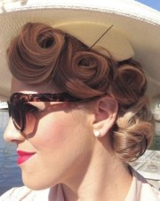 classy pin hairstyles