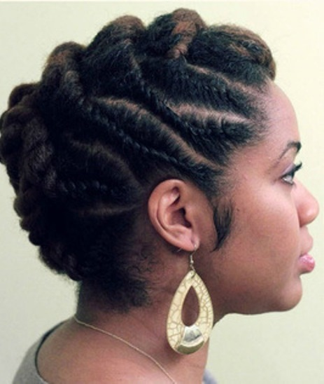 20 Classy Updos For Natural Hair