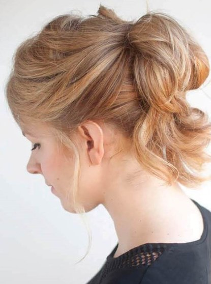 20 Loose Updos for Women