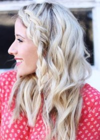 Unique Braided Bang Hairstyles