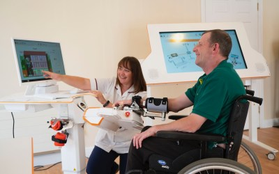 The launch of Askham Rehab brings pioneering robotics based rehabilitation to Cambridgeshire