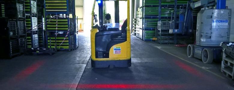 Forklift Safety Light