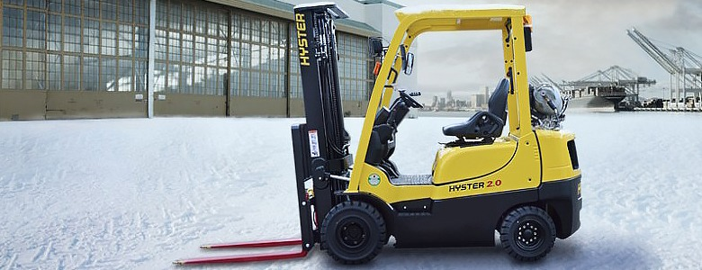 Hyster Forklift Hitec
