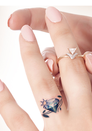 3d Wedding Ring Tattoos : wedding, tattoos, Wedding, Tattoos, Gallery