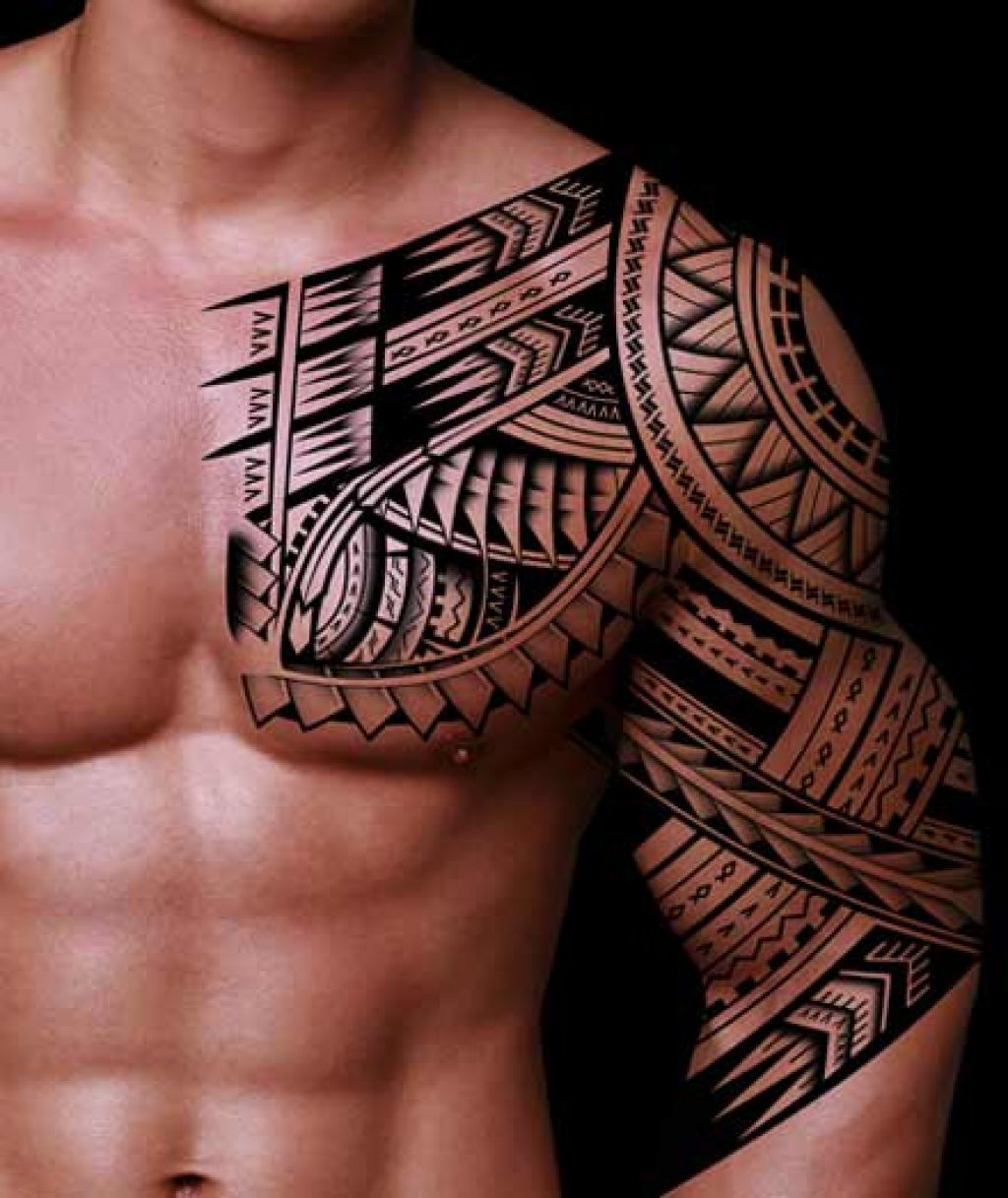 21 Awesome Tribal Sleeve Tattoos Designs, Images And Pictures