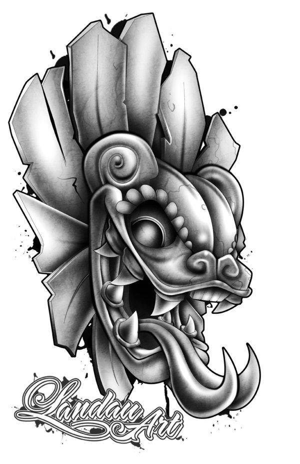 Aztec Warrior Tattoo Designs : aztec, warrior, tattoo, designs, Unique, Aztec, Tattoo, Designs, Ideas