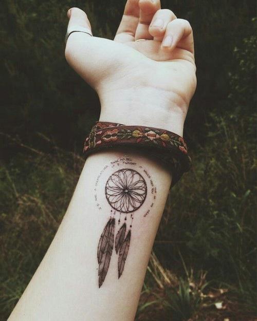Hippie Tattoo : hippie, tattoo, Amazing, Hippie, Tattoos