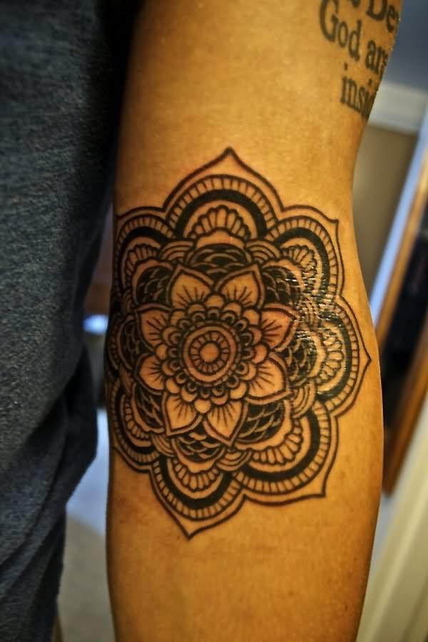 Hippie Tattoo : hippie, tattoo, Hippie, Flower, Tattoos