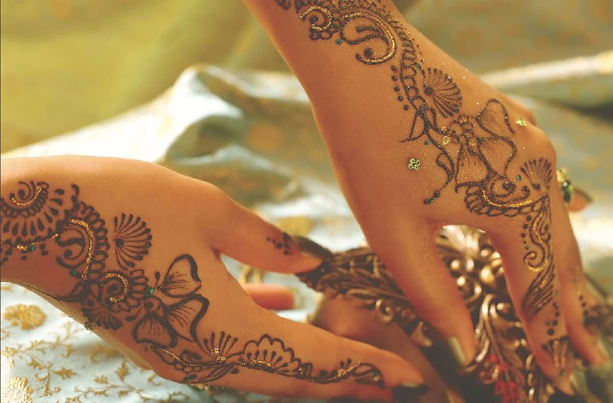 49+ Beautiful Henna Tattoos For Girls