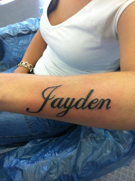 Forearm Name Tattoos : forearm, tattoos, Forearm, Tattoos